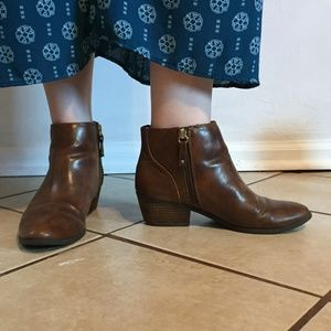 Dr. Scholl's vegan leather booties